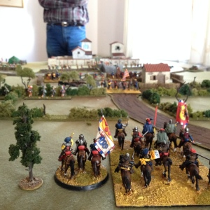 Giovanni's view of the battlefield.