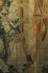 Miller's Wife, about 1430.  To me, this is very much how Blanche might dress--except in livery, most days.