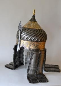 Eastern 'Turban' helmet by Jeffrey Hildebrandt