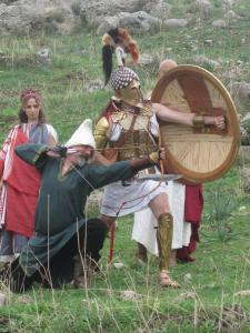 Pen and Sword at Plataea in 2014...
