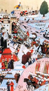 The siege through Turkish eyes....