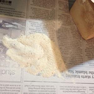 Mammoth Ivory dust