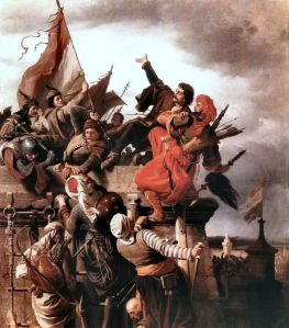 The heroism of Titusz Dugovics.  But did this really happen??