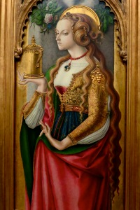 A fifteenth century image of prostitution -- Saint Mary Magdalene...